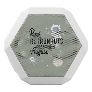 Astronauts are born in August Ztw1w White Bluetooth Speaker