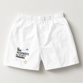 Astronauts are born in December Zcsl0 Boxers
