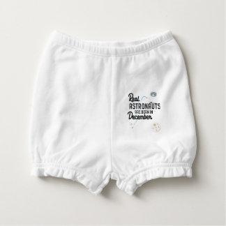 Astronauts are born in December Zcsl0 Nappy Cover
