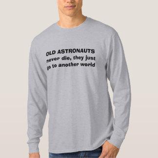astronauts brain teaser t-shirt