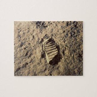 Astronaut's Footprint Jigsaw Puzzle