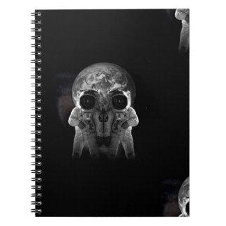 astronauts note book
