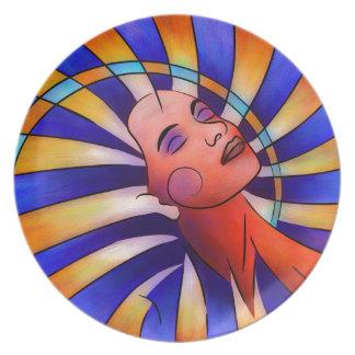Astronella - beauty star plate