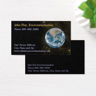 Astronomer Astronomy Environmentalist Business Business Card
