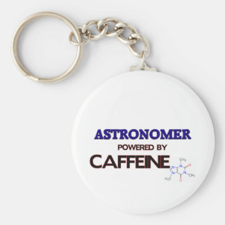 Astronomer Powered by caffeine Key Ring