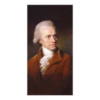 Astronomer Sir Frederick William Herschel Portrait Photo Greeting Card