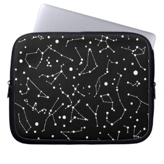 Astronomers Dream Constellation Pattern Laptop Sleeve