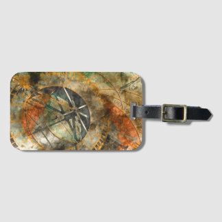 Astronomical clock in Prague, Czech Republic Luggage Tag