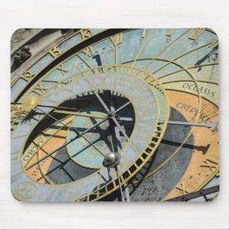 Astronomical Clock in Prague Czech Republic Mouse Pad