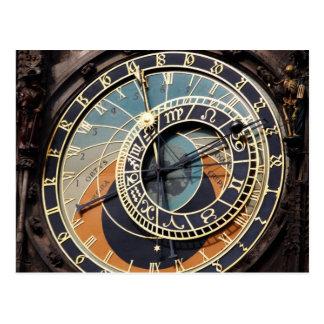 Astronomical Clock In Praque Postcard