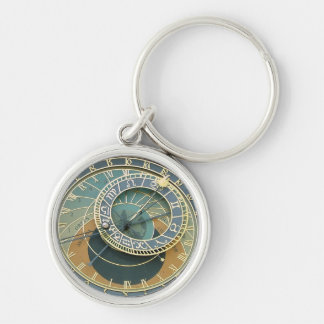Astronomical Clock Key Ring
