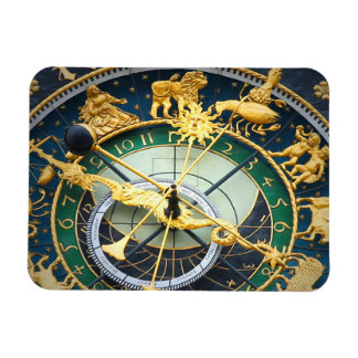 Astronomical Clock Rectangle Magnet