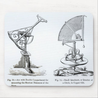 Astronomical Instruments Mouse Pad