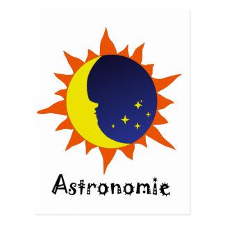 Astronomie Logo Postcard