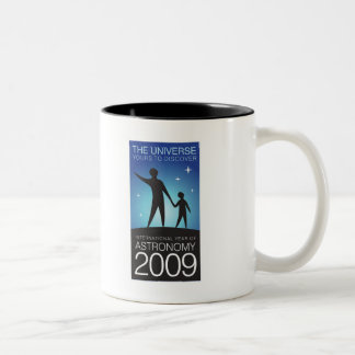Astronomy 2009 Two-Tone coffee mug