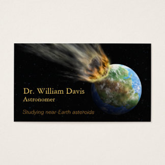 Astronomy Business Card