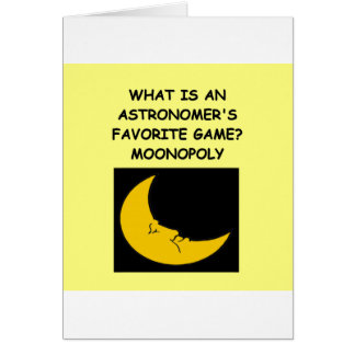 ASTRONOMY CARDS