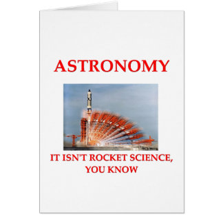 astronomy greeting cards