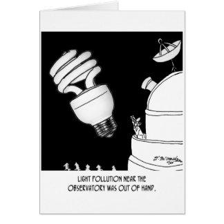 Astronomy Cartoon 9209 Cards