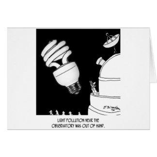 Astronomy Cartoon 9209 Greeting Card