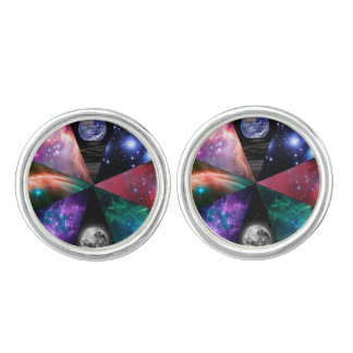Astronomy Collage Cufflinks