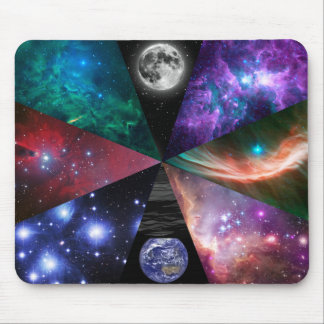 Astronomy Collage Mouse Pad