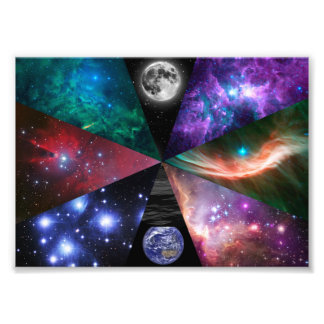 Astronomy Collage Photo Print