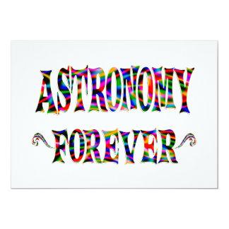Astronomy Forever Custom Invites