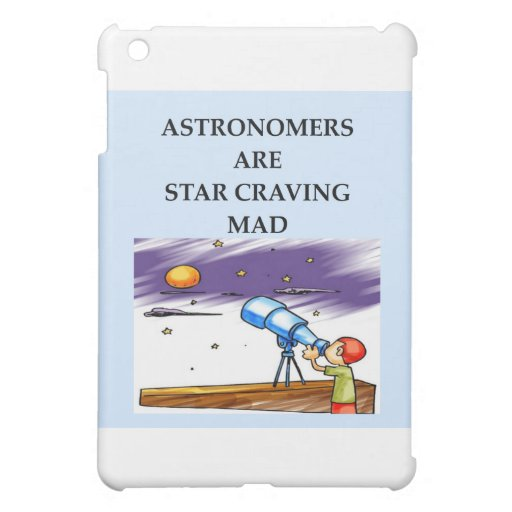 astronomy joke iPad mini case