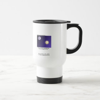 Astronomy Moonlighting Cartoon Funny Travel Mug Coffee Mugs