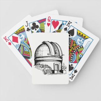 Astronomy Observatory Bicycle Playing Cards