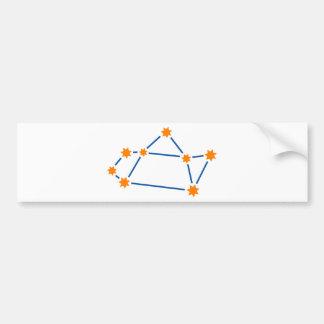 astronomy-sagittarius-2 bumper sticker