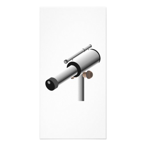 Astronomy Science Telescope Photo Cards