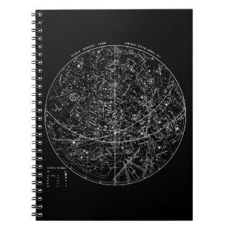 Astronomy Star Chart Notebook