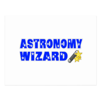 Astronomy Wizard Post Cards