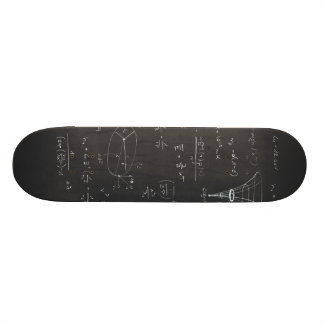 Astrophysics diagrams and formulas skateboard deck