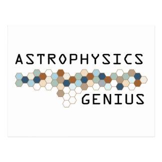 Astrophysics Genius Postcard