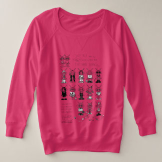 Astroposse 1 plus size sweatshirt