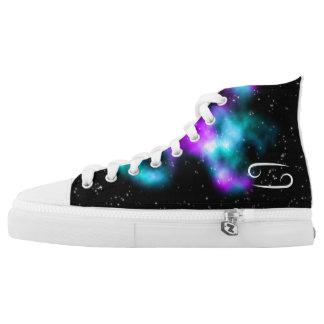 AstroStars Series - Cancer Zodiac Shoe Design