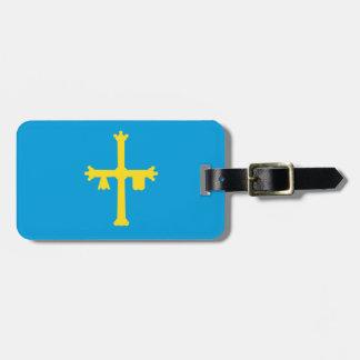 Asturias Flag Luggage Tag