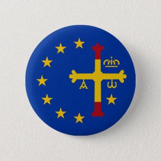 Asturias, Spain, Europe 6 Cm Round Badge