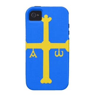 Asturias (Spain) Flag iPhone 4/4S Cases