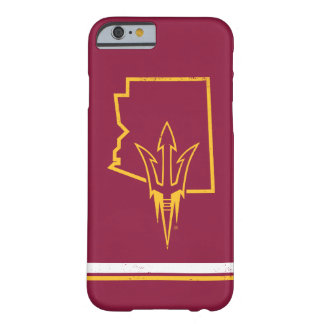 ASU | Classic State Logo Barely There iPhone 6 Case