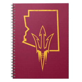 ASU | Classic State Logo Notebooks