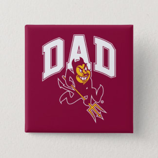 ASU Dad 15 Cm Square Badge