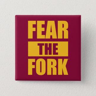 ASU Fear the Fork 15 Cm Square Badge
