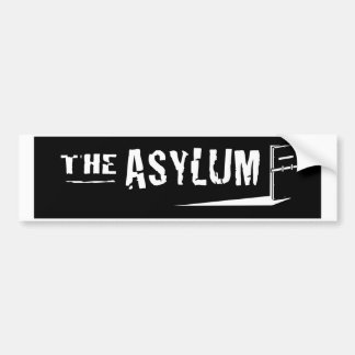 Asylum Bumper Sticker