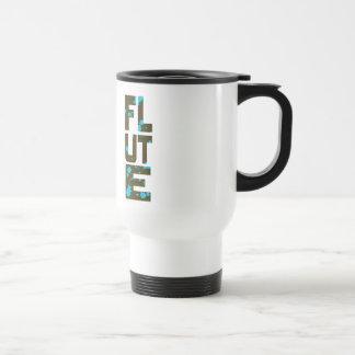 Asymmetrical Flute Travel Mug