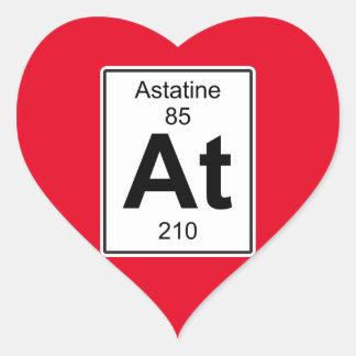 At - Astatine Heart Sticker