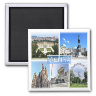 AT * Austria - Vienna Magnet